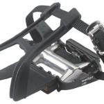 Avenir Ultralight Road Bike Pedals with Toe Clips and Straps