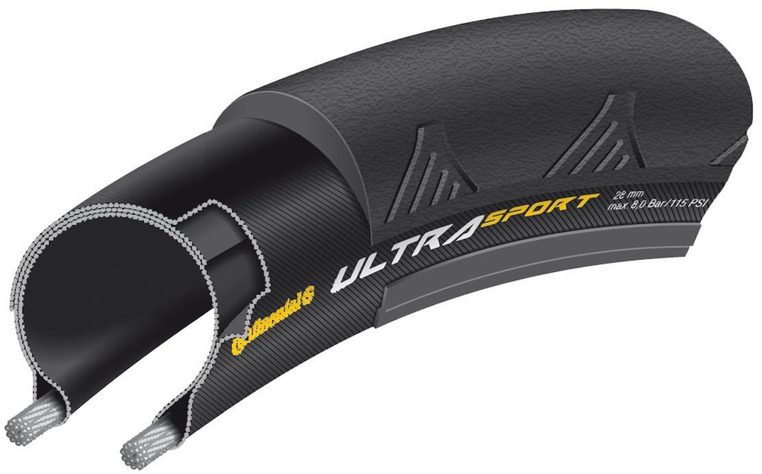 Continental Ultra Sport II Tire - best road bike tires